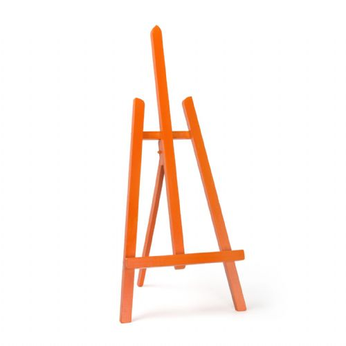 "Orange Colour Easel Essex 24"" - Beech Wood"